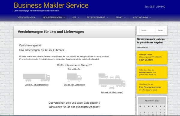 Webseiten Business Makler Service