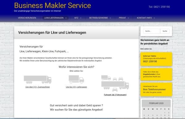 Webseiten Business Makler Service