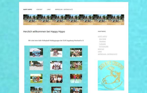 Webseiten Happy Hippo